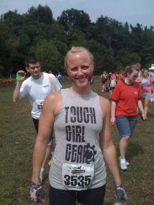 Love the shirt, but that is not what made her tough!